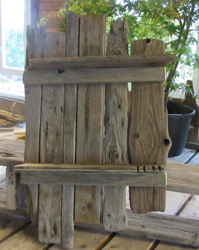 Wandregal treibholz 50 x 70cm der pflanzenprofi aus for Regal treibholz